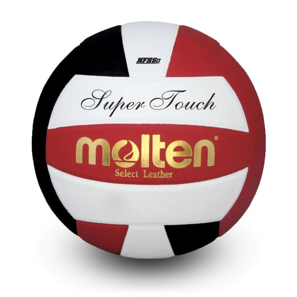 Molten Super Touch Volleyball Red Black