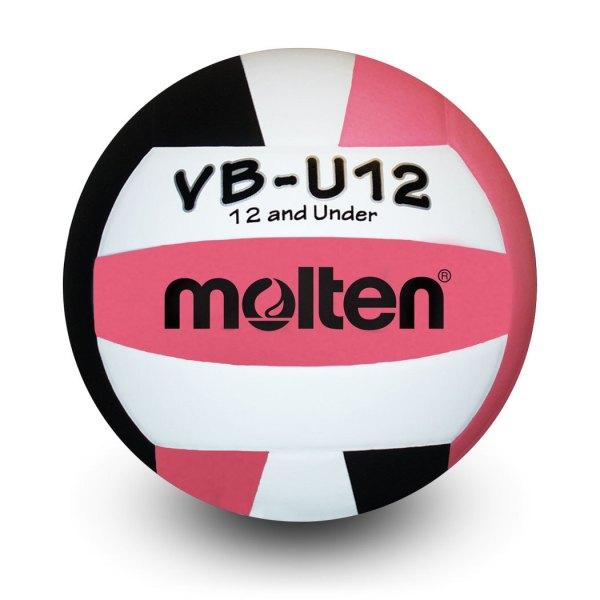 Molten U12 Microfiber Light Ball Black White Pink