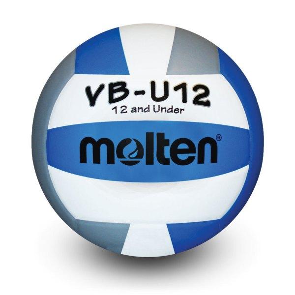 Molten U12 Microfiber Light Ball Royal White Silver