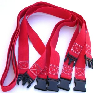 Volleyball Court 2 Inch Webbing Court Boundary Line Extender Red
