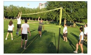 grass volleyball