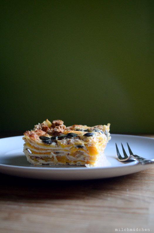 Kürbis-Lasagne mit Knusperkruste