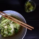 Avocado-Pesto mit Glasnudeln | milchmädchen.