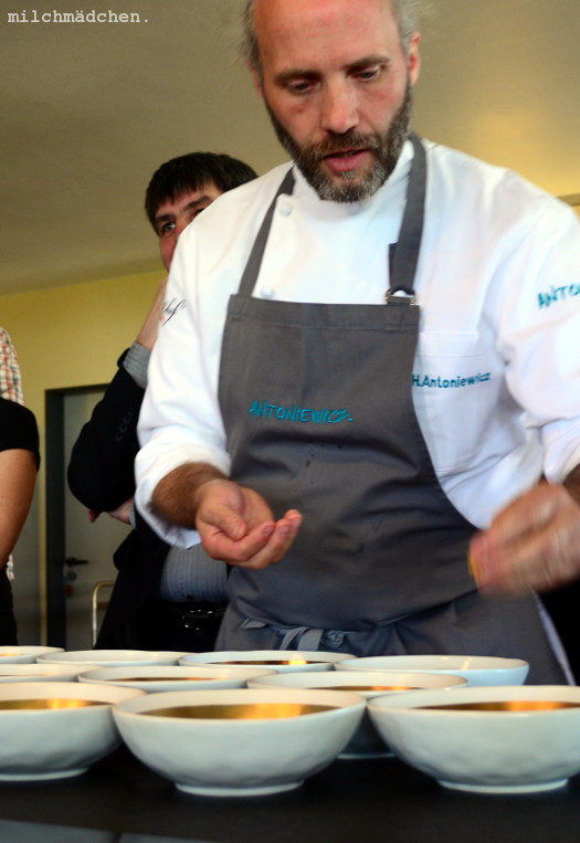 Garnelen und Marzipan: Flavour Pairing-Workshop mit Heiko Antoniewicz im Rahmen der AEG-Taste-Academy in Offenbach