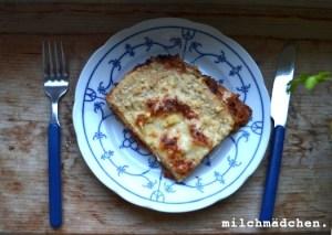 Lasagne mit Schafskäse | milchmädchen.