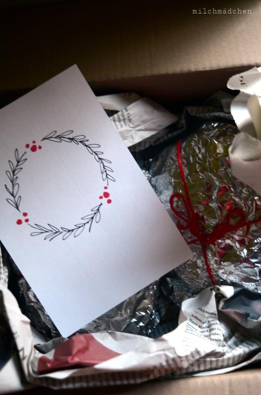 Stollen & Weihnachtskarte | milchmädchen.