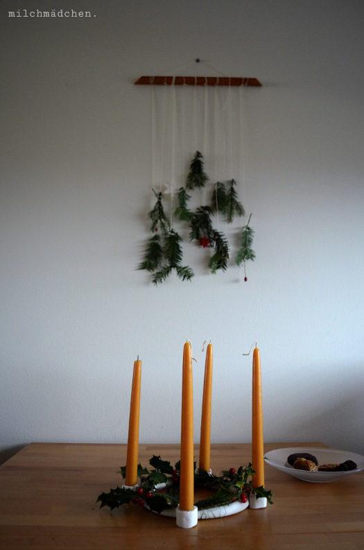 Advent, eigenhändig.