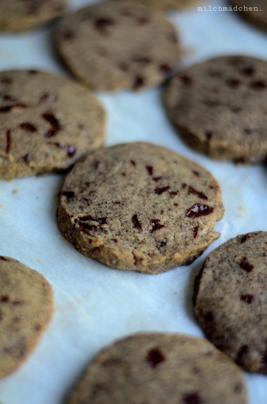 Kekse mit Kaffeesatz | milchmädchen.