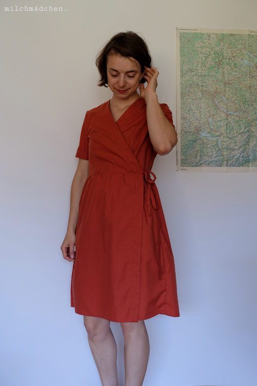 Ein Traum von einem Kleid: Freestyle-Wickelkleid