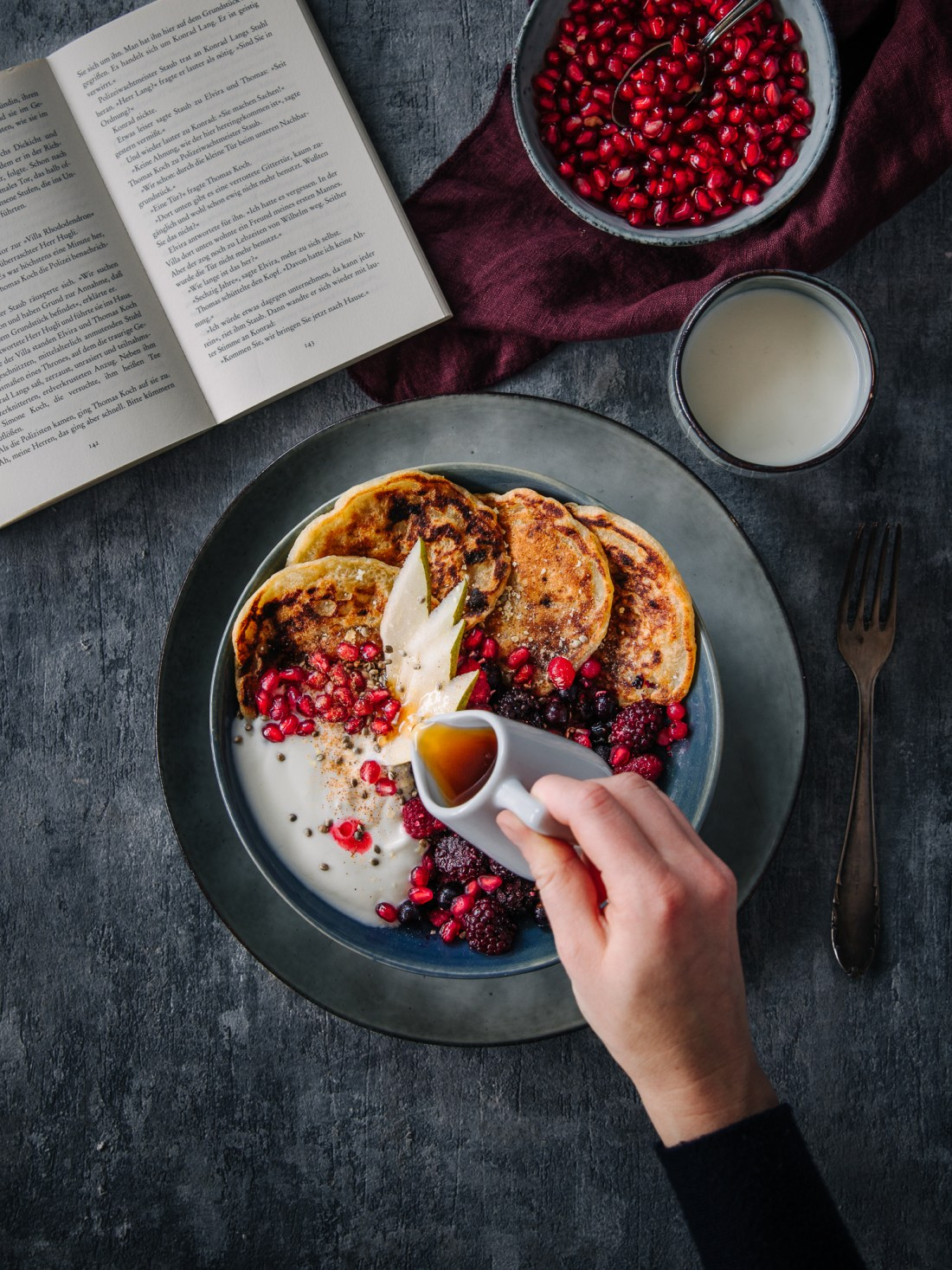Pancakes Bowl