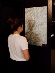 Vom Traminerhof aus lassen sich wunderbare Rennradtouren planen. In der Lobby befindet sich eine Karte mit zahlreichen Touren.