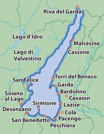 Lago Di Garga Luoghi Più Belli