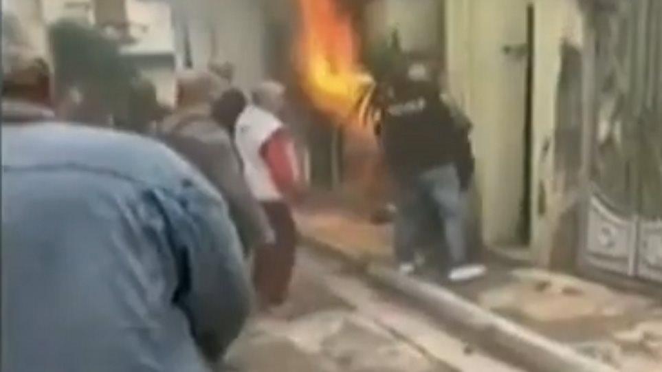 Αποτέλεσμα εικόνας για Κυψέλη, Φωτιά, Μετανάστες, Κάτοικοι, Διάσωση, Διαμέρισμα, Πυροσβεστική