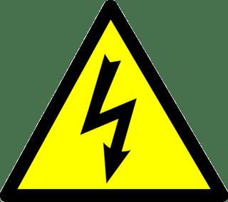 voltage sign