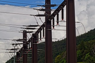 What is Electrical Substation- an electrcial substation