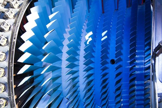 A turbine