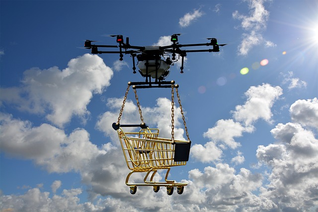 how difficult is it to fly a drone- drone carrying weight
