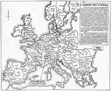 L'Allemagne et l'Europe des ethnies, par Pierre Hillard