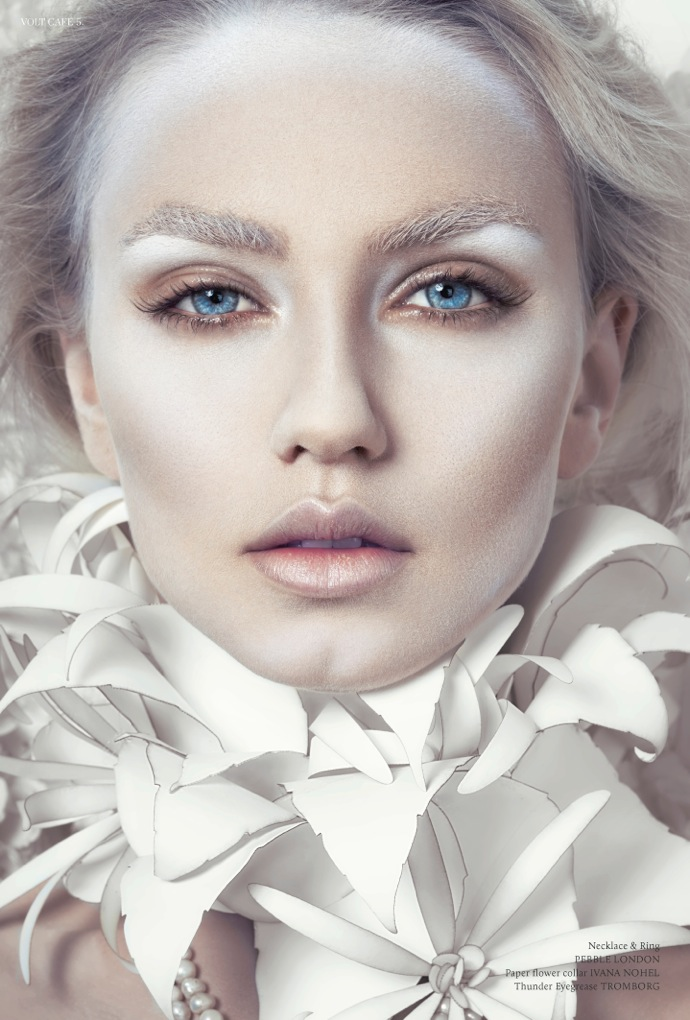 Black And White Makeup And Cosmetics