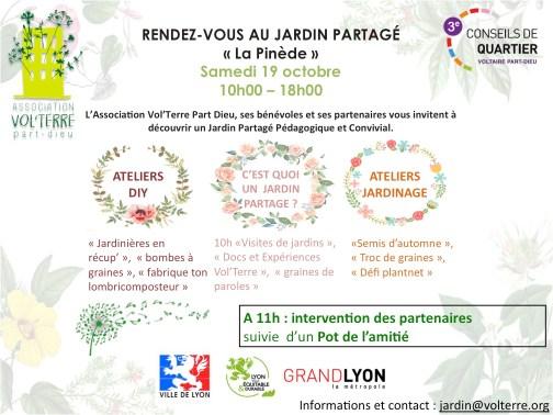 inauguration Jardin partagé La Pinède