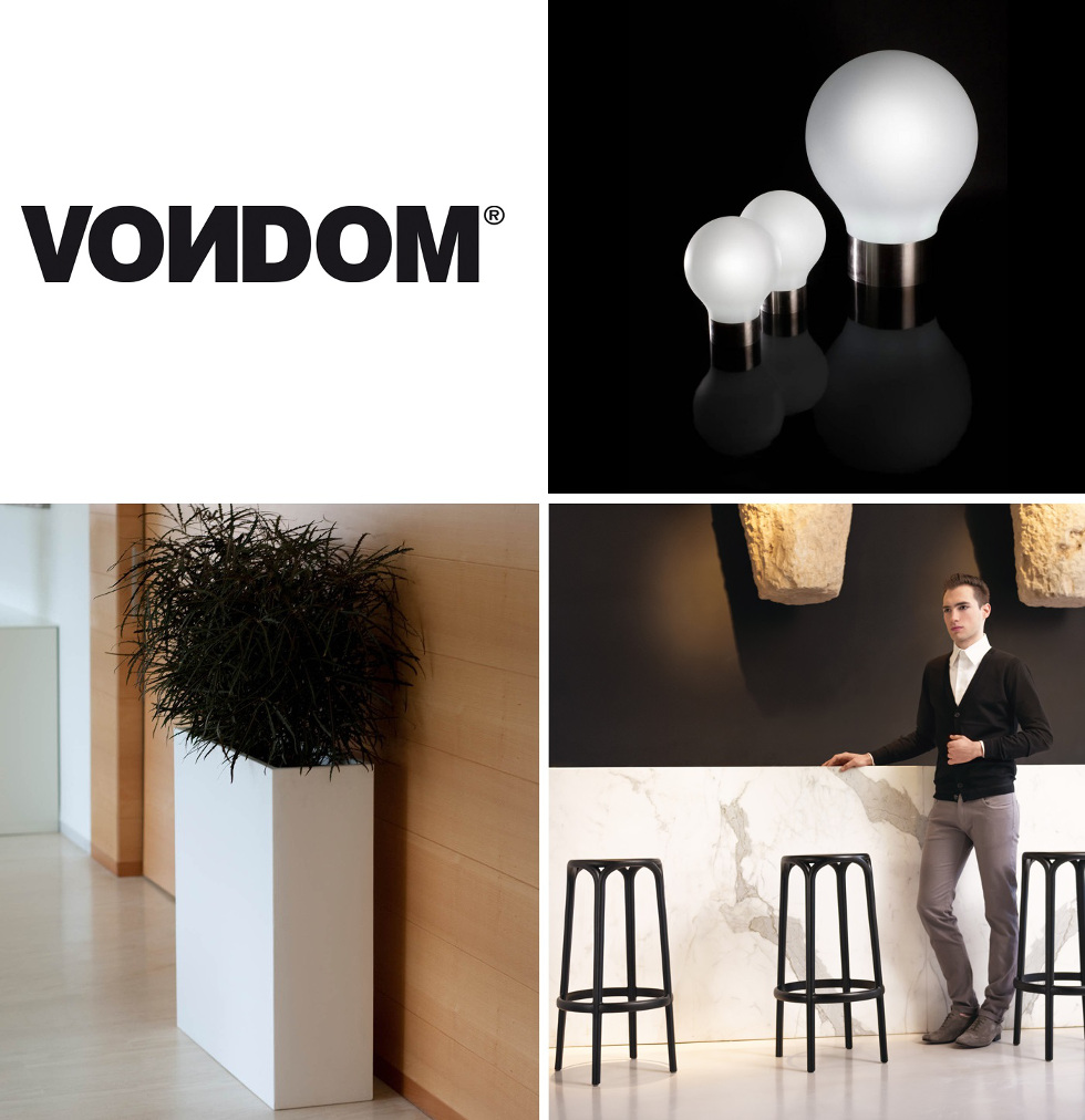 gallery of vondom est une marque espagnole proposant des collections futuristes de mobilier de jardin et de jardinires dextrieur et intrieur design with