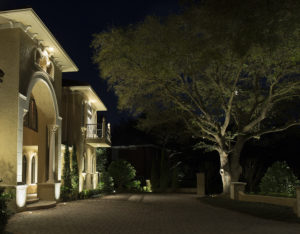 outdoor downlighting how to light from