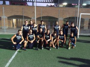 Los dos equipos finalistas del torneo.