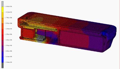 Analisi termica dispositivo elettronico