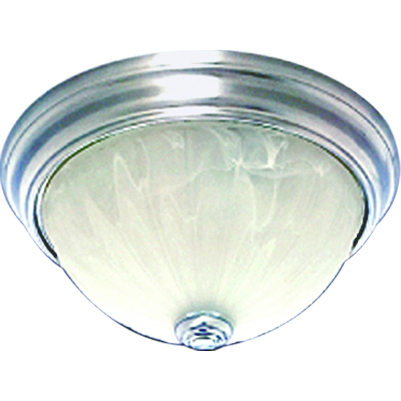 V7730-33 Marti 1-Light Indoor Brushed Nickel Flush Mount Ceiling ...