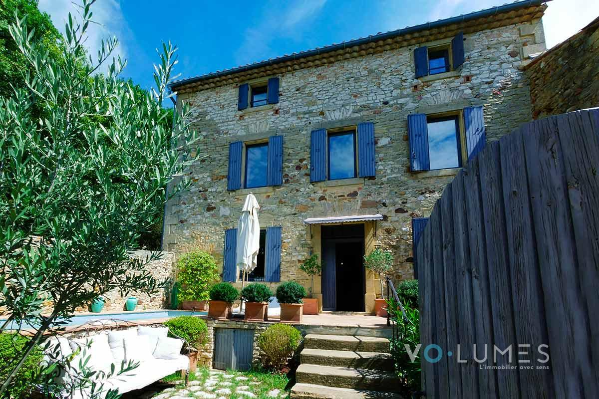 maison uzes agence volumes immobilier