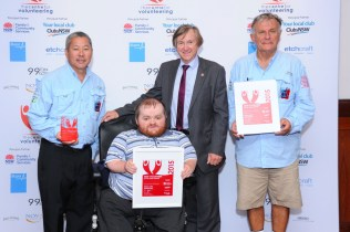 Team from Sailors with disABILITIES