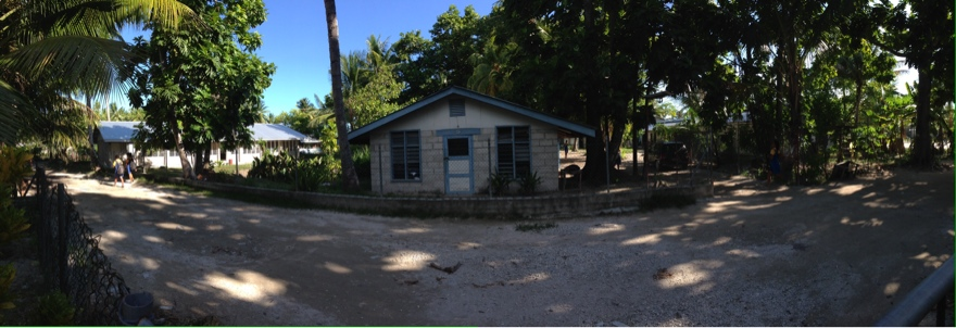 panoramic view of school compound