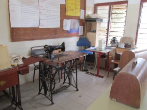sewing classroom
