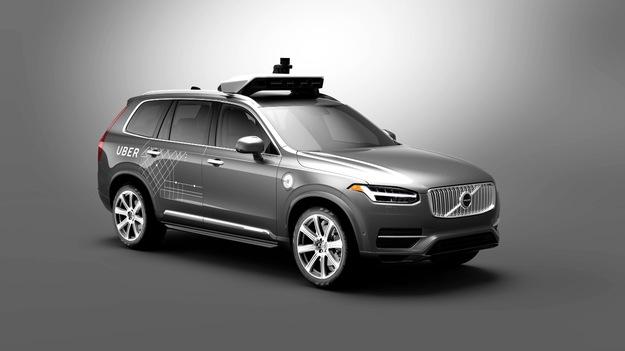 Volvo rozpoczyna współpracę z firmą Uber