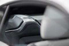 Polestar 1 interior detail, rear seat