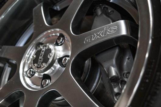 Slick wheels and upgraded brakes
