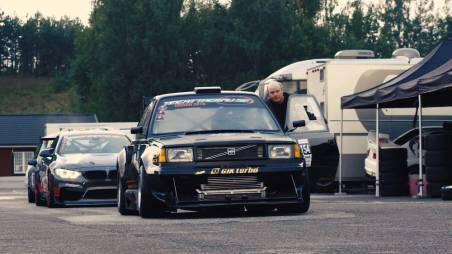 Volvo 360 Time Attack Monster - in Black