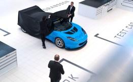 Team Lotus Cyan Racing Evora GT revealed!