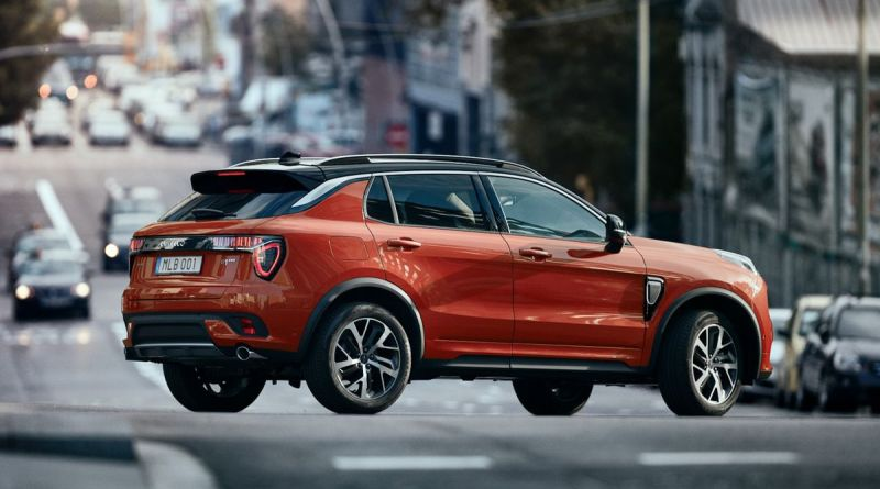 Lynk & Co 01 compact crossover SUV