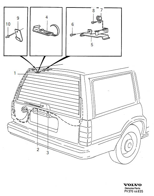 diagram location 2006 volvo v70 relay Volvo 940 Relay Location