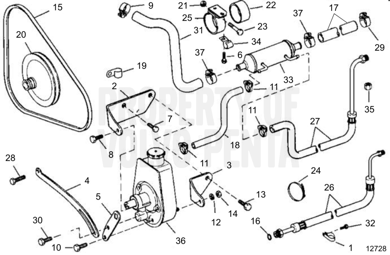 Wrg Volvo Power Steering Pump Wiring Diagram