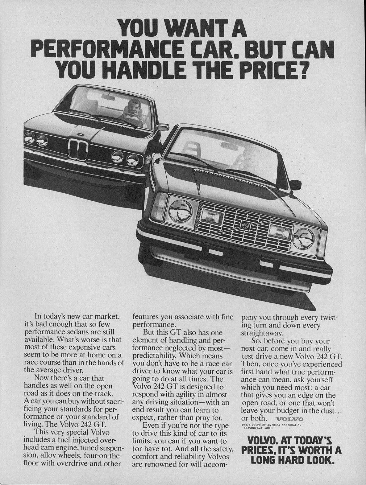 Volvo 240 Amp 260 Brochures