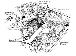 Volvo 960 vacuum diagrams