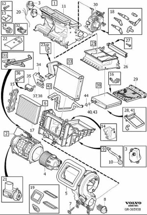 30767040  Volvo Power unit Climate, Assembly   Volvo Wholesale Parts Direct, San Luis Obispo CA