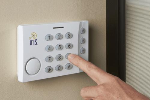 Iris Keypad