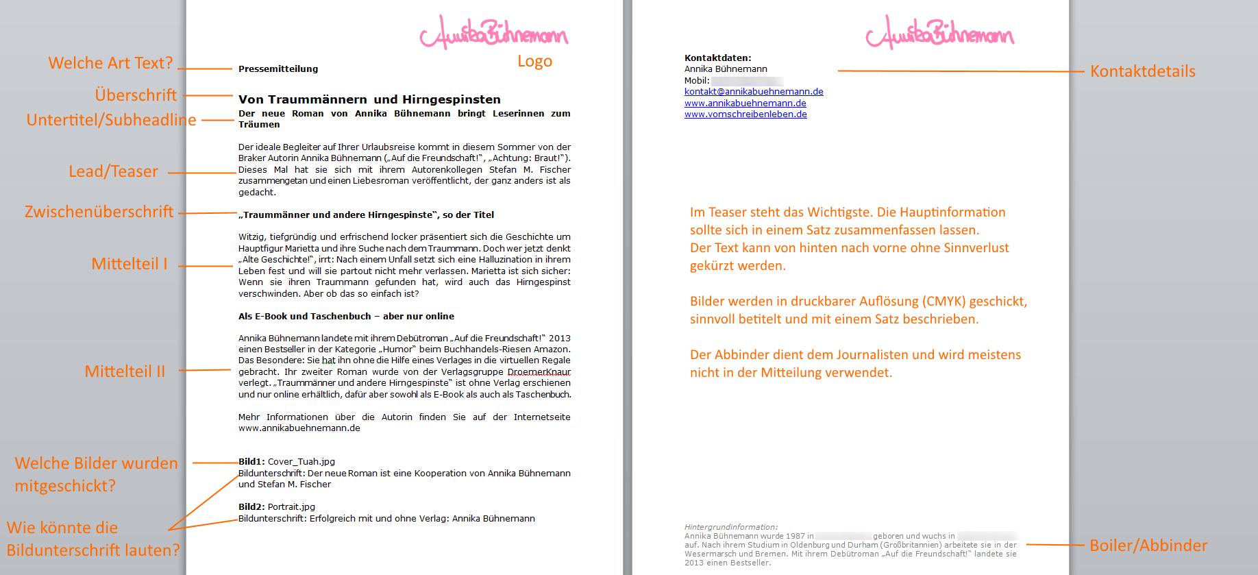 Pressemitteilung Beispiel Pressemitteilung