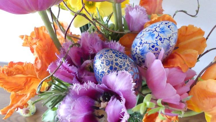 Blumen zu Ostern