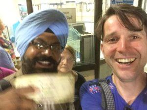 Selfi mit Herrn Sultan