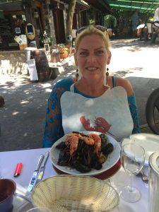 Italië; dolce far niente; Porlezza; meer van Lugano