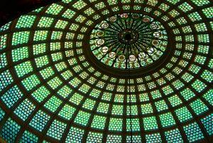 Cultural Center's Tiffany Dome